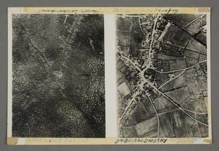 Passchendaele before and after the battle - Auckland War Memorial Museum Tamaki Paenga Hira