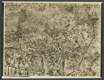[Passchendaele aerial photograph.] - Auckland War Memorial Museum Tamaki Paenga Hira