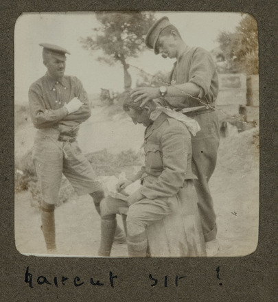 Haircut Sir Collections Online Auckland War Memorial Museum