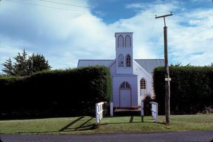 [Church, Camp Road, Pukehiki, Otago Peninsula.]
