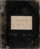 Auckland Museum Minute Book 1867-1871.
