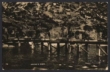 Anzac's pier - Auckland War Memorial Museum Tāmaki Paenga Hira