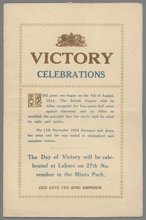 Victory Celebrations - Auckland War Memorial Museum Tamaki Paenga Hira