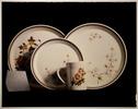 Studio photograph of ceramic tableware.