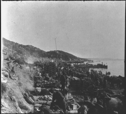 View of Anzac Cove