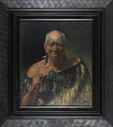 Patara Te Tuhi, an Old Warrior