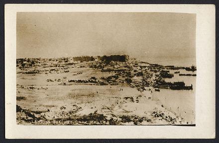 Landing beaches, Cape Helles - Auckland War Memorial Museum Tamaki Paenga Hira