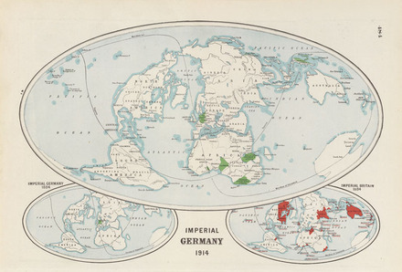 Map Of Germany In 1914.Imperial Germany 1914 Collections Online Auckland War Memorial