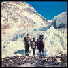 [Peter Hillary, Sarah Hillary, Sherpa Tenzing].