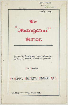 The Maunganui mirror