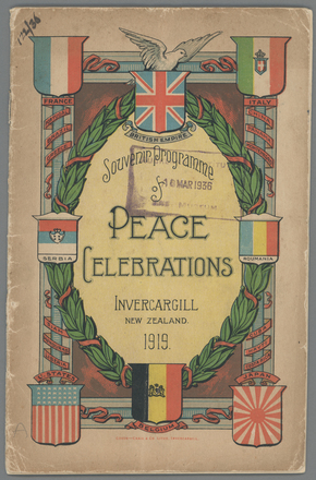 Peace Celebrations - Auckland War Memorial Museum Tamaki Paenga Hira