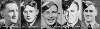 RNZAF Crew of RAF Lancaster ILM 228 AA-D lost over Denmark 12 September 1944.  - All rights reserved.