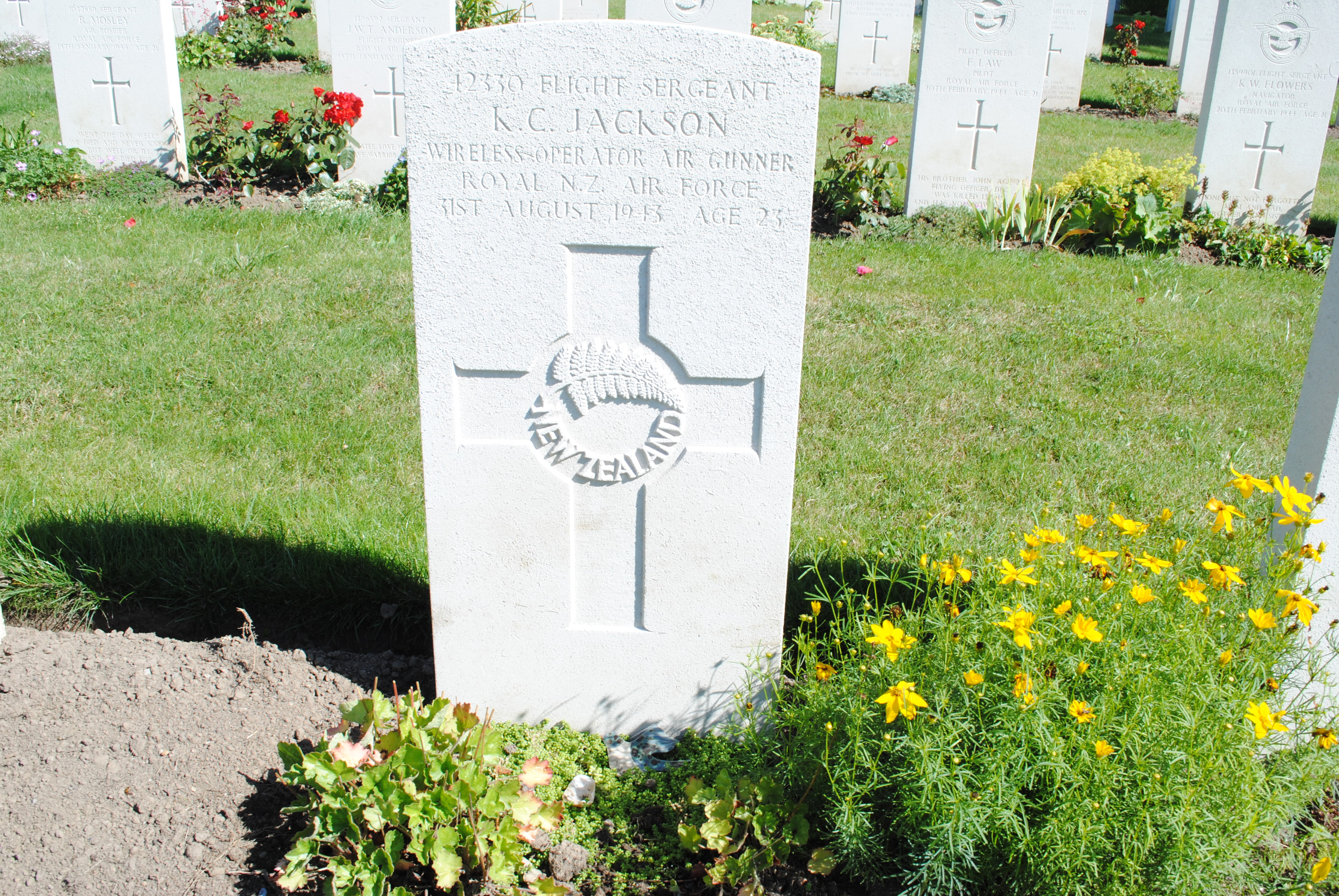 Kensington Campbell Jackson - Online Cenotaph - Auckland War
