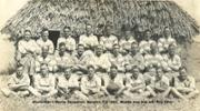 Football team Nausori, Fiji about 1943.  Please add names if men can be identified - No known copyright restrictions.