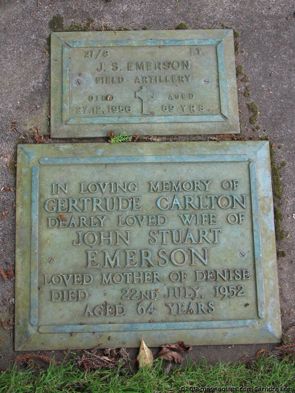 John Stuart Emerson - Online Cenotaph - Auckland War Memorial Museum