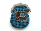 beaded purse, locality: unknown. Trans Eth. dept....