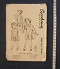 pattern, dress, girl's, pattern number 3498, 3 yea...
