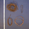coil of copper wire for hair work. Multiple coils ...