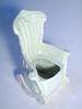 Pale Celadon Glaze Novelty Armchair