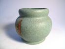 storage jar, lidded, cylindrical