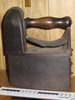 early colonial domestic charcoal iron large triang...
