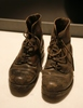 word pair of black leather army boots description:...