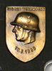 badge, Tag der Wehrmacht 19.3.1939 shield form; le...