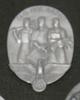 commemorative badge Tag der Arbeit 1935 Oval metal...