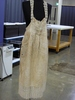apron, Cotton and lace apron. Has been put away s...