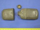 hip flask metal hip flask [pewter], associated wit...