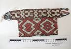 Piece of beadwork. Probably part of a necklet. It ...