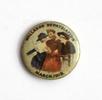 Wallaroo Repatriation March 1919, fundraising badg...