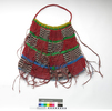 Bilum netbag made from introduced synthetic nylon ...