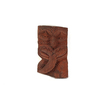 Koruru, carved wooden figure place below the tekot...