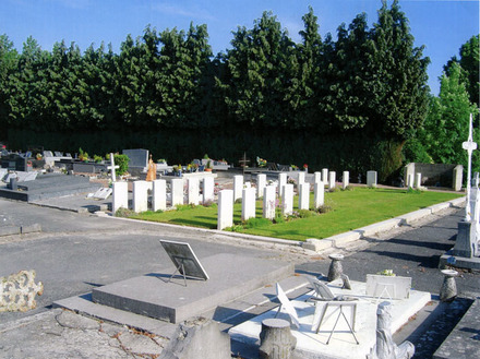 Solesmes Communal Cemetery, view (image provided by Albert Smith) - No known copyright restrictions