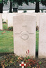 Headstone, Lijssenthoek Military Cemetery, Belgium (photo B.G. Knights, 2009) - No known copyright restrictions