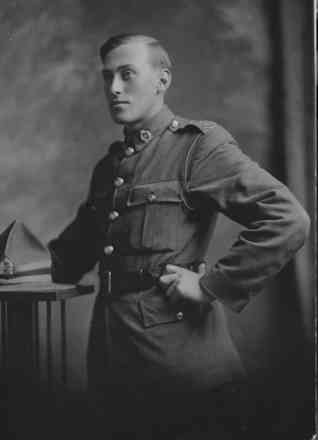 Arthur George Browne in uniform - No known copyright restrictions