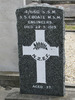 Gravestone, CWGC, Linwood Cemetery (photo Sarndra Lees January 2010) - Image has All Rights Reserved.