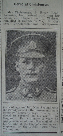 Portrait, Obituary The Star, 21 May 1918 - No known copyright restrictions