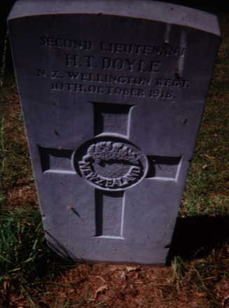 Headstone, Grangegorman Military Cemetery (photo Mr Patrick Hogarty) - No known copyright restrictions