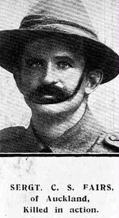 Portrait, Auckland Weekly News 1916; this photograph may not be correct - No known copyright restrictions