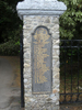 Names panel, right, Memorial gates, Greytown Soldiers Memorial Park (photo G.A. Fortune 2012) - Image has All Rights Reserved