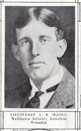 Portrait Auckland Weekly News Roll of Honour 1915, wounded - No known copyright restrictions