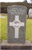 Headstone, urupa, Maitahi Maori Cemetery (photo R Bedows 2005) - No known copyright restrictions