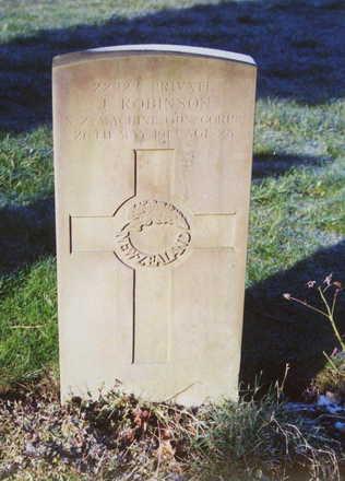 Headstone, St John the Baptist Churchyard, Londonthorpe - No known copyright restrictions