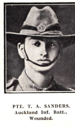 Portrait, from Auckland Weekly News Honour Roll 1915 - No known copyright restrictions