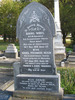 Gravestone, Linwood Cemetery, Christchurch (Photo Sarndra Lees, 2009) - Image has All Rights Reserved.