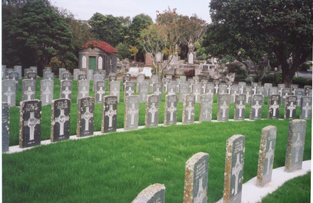 Karori Cemetery, view Wellington (photo P. Baker, 2005). - No known copyright restrictions