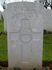 Headstone, Caterpillar Valley Cemetery (photo G.F. Fortune, 2007) - Image has All Rights Reserved