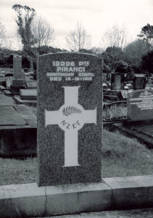 Gravestone, O'Neill's Point Cemetery provided by Kees De Boer - No known copyright restrictions